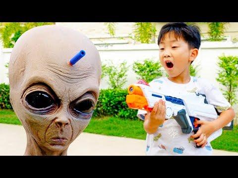 외계인이 예준이집에 나타났다