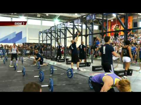 CrossFit -  South West Regional Live Footage: Team Event 7