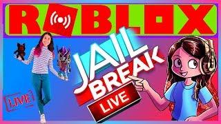 ROBLOX Jailbreak | ( January 15th ) Live Stream HD