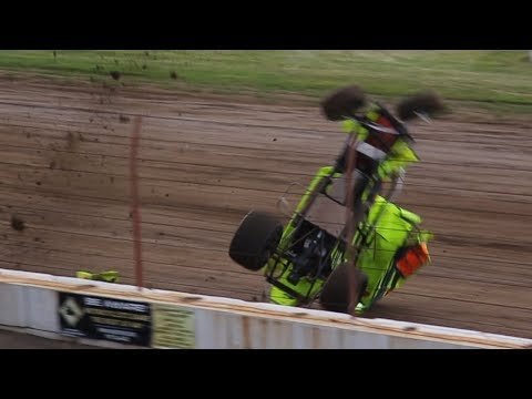 Dirt Track Crash Compilation #1