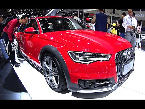 New 2016, 2017 Audi A6 Allroad quattro ready for the Chinese auto market