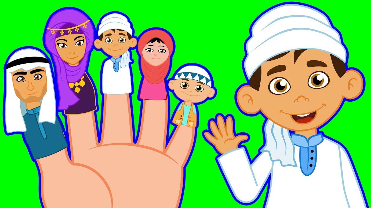 Arap Parmak Ailesi - Dünya Çocuk Şarkıları