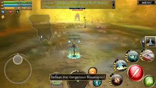"Aurcus Online Global ""Vanguard"" solo GM den - rank 6"