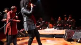 "Susheela Raman/Mian Miri Qawwals ""Marudumalai/Maste Nazron"" QEH London April 2012"