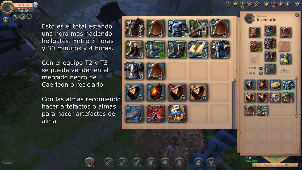 Albion Online #16 – Guia Hellgates azules [Solo Build Arco+Set cuero]