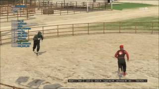 GTA V Fistfight at the farm