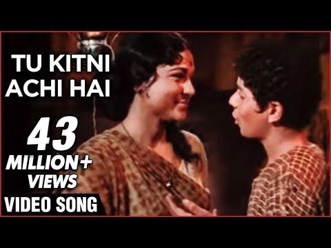 Tu Kitni Achhi Hai - Lata Mageshkar Classic Bollywood Emotional Hit Song - Raja Aur Runk