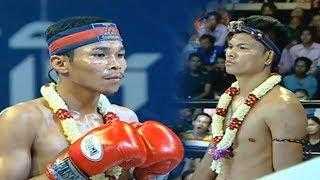 ឡុង សំណាង Long Samnang Vs (Thai) Aramboy, 26/August/2018, SeaTV Boxing | Khmer Boxing Highlights
