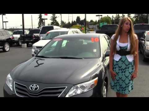 Virtual Walk Around Tour of a 2010 Toyota Camry LE at Titus Will Toyota in Tacoma