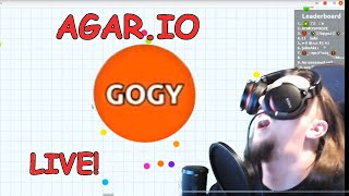 Agar.io LIVE Stream Trying to Break My Own Record!
