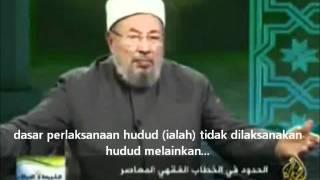 Perlaksanaan Hukum Hudud Menurut Sheikh Dr. Yusuf al Qaradhawi