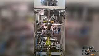 Coller type auger filler Machine - Indian Machine Mart