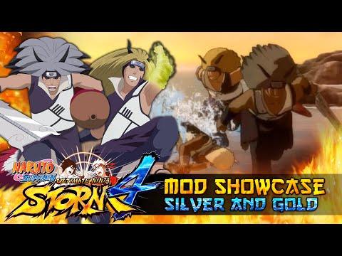 Ginkaku x Kinkaku The Gold and Silver Brothers!!! Naruto Shippuden Ultimate Ninja Storm 4 Mod |