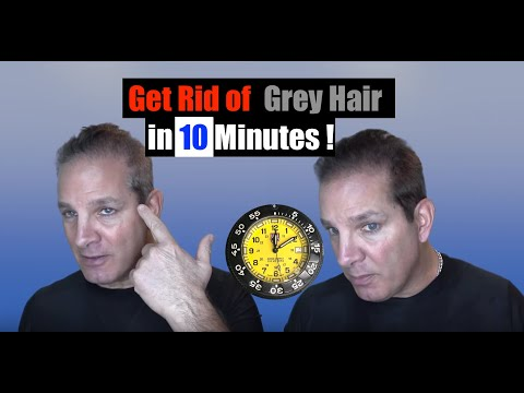 Get Rid Of Gray Hair In 10 Minutes !