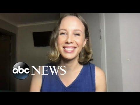 ABC News journalist makes emotional journey home to Australia