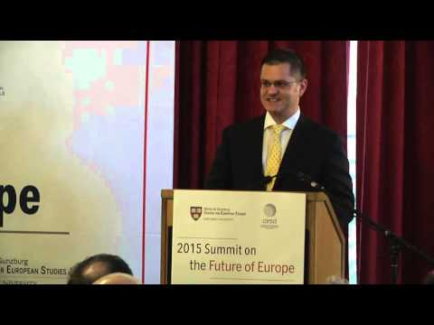 Summit on the Future of Europe 2015 Opening Address: Greece & Europe: Beyond the Financial Crisis