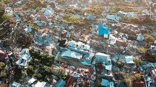 Drohnenflug über Sulawesi - Zerstörung & Verzweiflung