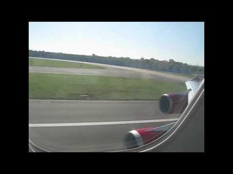 Virgin Atlantic 747-400 Take Off Heathrow to San Francisco