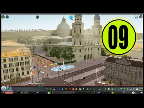 ELYRIA - HUGE REALISTIC EUROPEAN CITY [9] - A very NEW District? | Cities: Skylines Gameplay