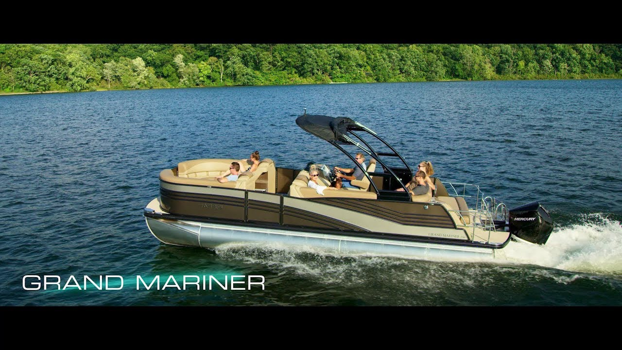 2019 harris grand mariner sl 250 twin engine contact your local marinemax store about availability [ 1280 x 720 Pixel ]