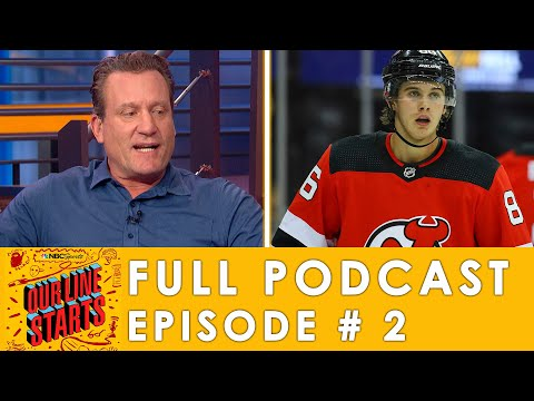 Hughes vs. Kakko Part 1, and how far can the Avalanche go? | Our Line Starts Ep. 2 | NBC Sports