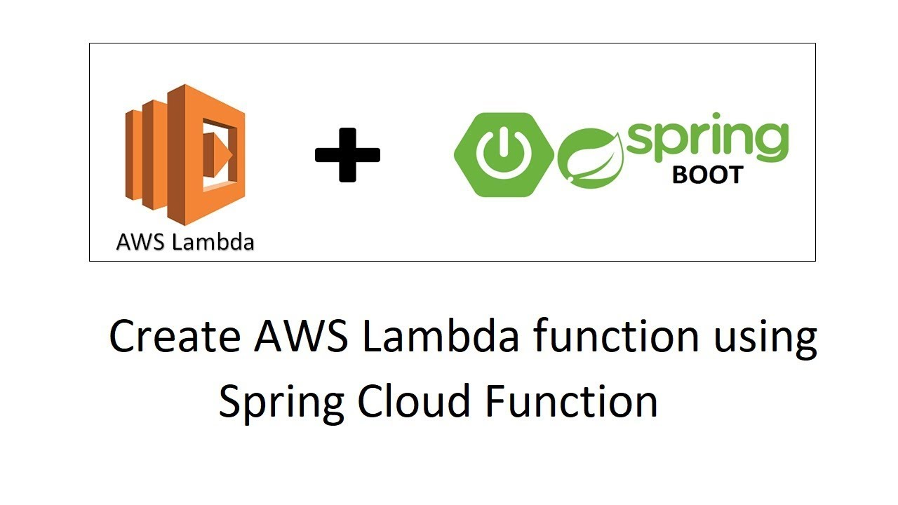 How to create AWS Lambda function using Spring Cloud Function | AWS Lambda  + Spring Boot
