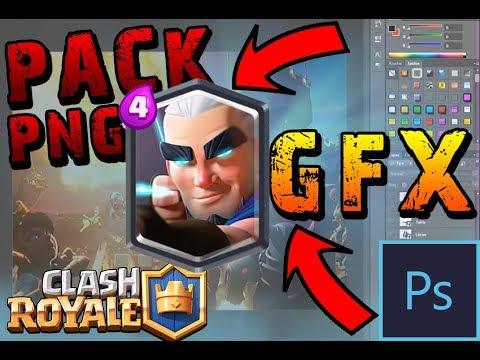 ¡¡EL MEJOR PACK DE CLASH ROYALE GFX!!! Imágenes PNG Clash Royale!! GFX CLASH ROYALE!! L 2018