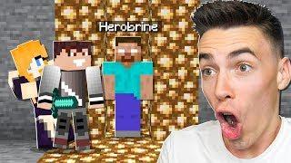 Dokończyliśmy PUŁAPKĘ na HEROBRINE w Minecraft!