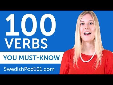 100 Verbs Every Swedish Beginner Must-Know