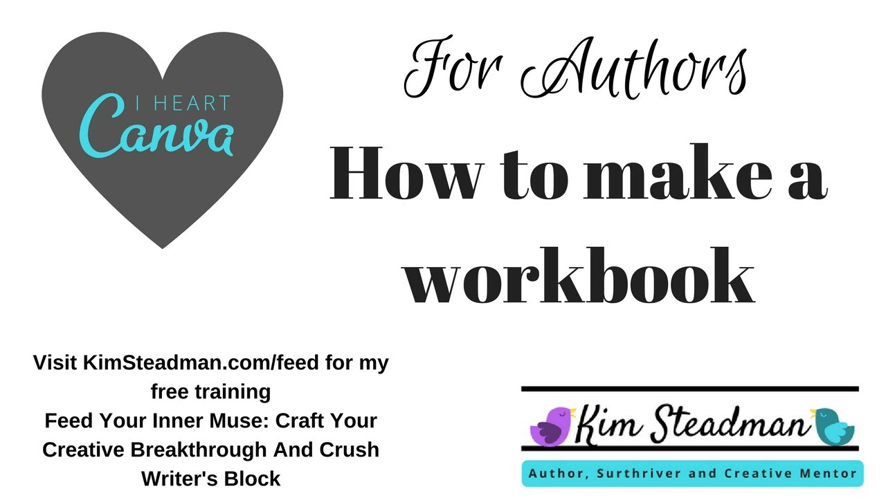 using canva to make a workbook lesson 1 youtube
