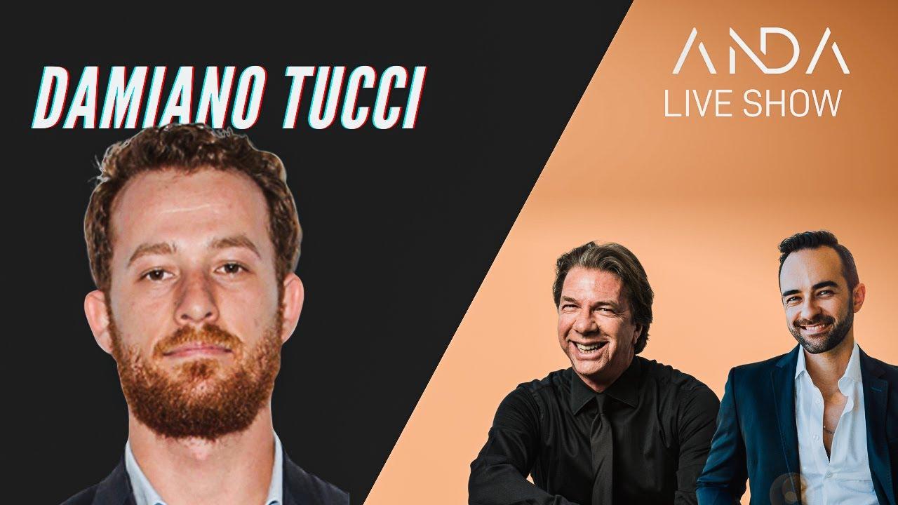 ANDA Live Show con ospite Damiano Tucci