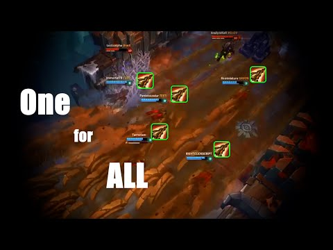 LoL One for All Best Moments 2016【League of Legends】