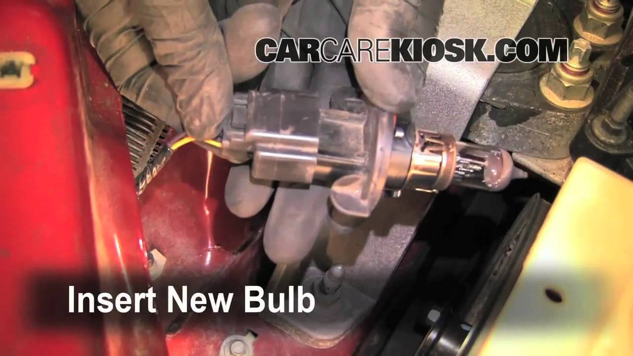 How To Change Burnt Out Headlight On A 2009 Ford Focus And All The Other Bulbs Too