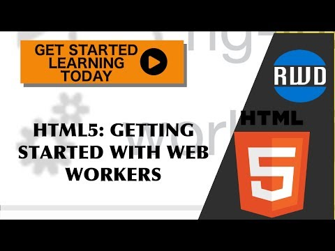 HTML5: How To Build Multithreaded Web Applications with Web Workers