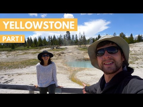 Yellowstone National Park Travel Vlog P.1 | Camping, Geysers, Volcanos & the Grand Canyon
