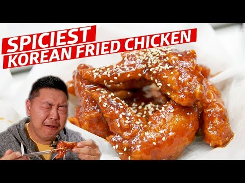 How to Conquer the Spiciest Korean Fried Chicken — K-Town Toronto