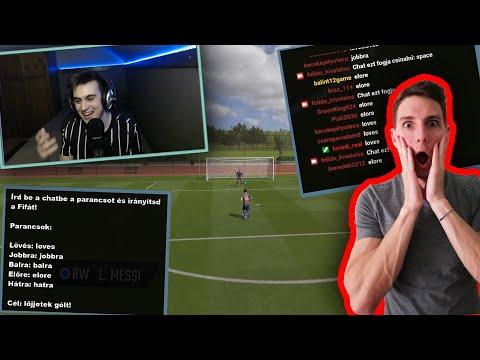 A Twitch chat irányította a FIFA-t 😱😳 - Félidő streamben történt   FIFA 20 thumbnail