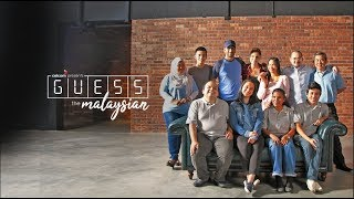 Guess The Malaysian: A Hari Malaysia 2018 Social Experiment by Celcom