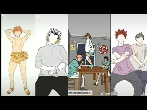HAIKYUU TIKTOK - dance animation