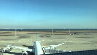 Tokyo International Airport (Haneda Airport) Time Lapse