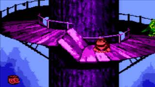 Donkey Kong Country (GBC) Gorilla Glacier - Rope Bridge Rumble
