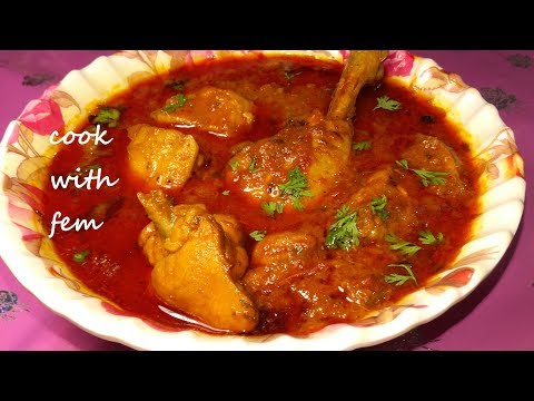 Indian Chicken Curry || Simple Chicken Curry For Bachelors and Beginners - With English Subtitles