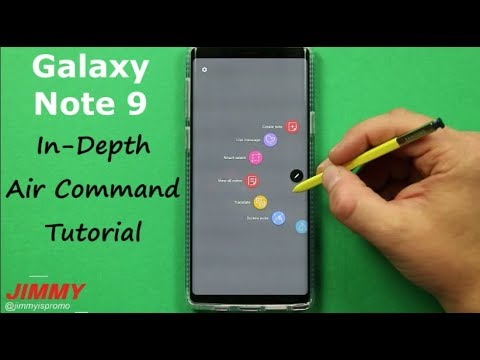 Galaxy Note 9 - AIR COMMAND In-Depth Tutorial