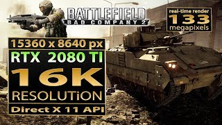 Battlefield  Bad Company 2 16K gameplay | bfbc2 16K resolution | bfbc2 d3d11 16K gameplay