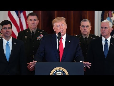 LIVE: Trump Makes Statement On Iran Missile Attack | NBC News (Live Stream)