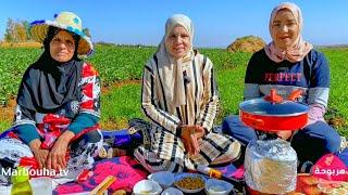 جربنا أكلة جزائرية مشبعناش منها 😋 ( شطيطحة )