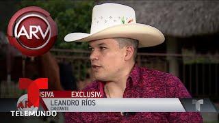 Leandro Ríos nos abre las puertas de su rancho en Nuevo León | Al Rojo Vivo | Telemundo