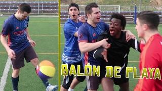 BALÓN DE PLAYA Y CROSSBAR CHALLENGE | Retos de fútbol con La Élite