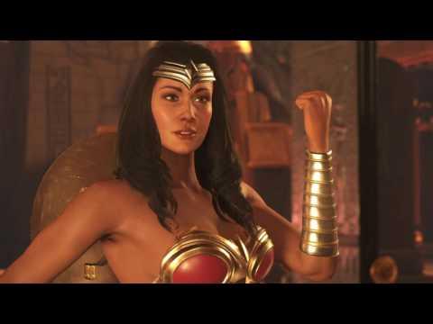 Injustice 2 Wonder Woman vs Poison Ivy