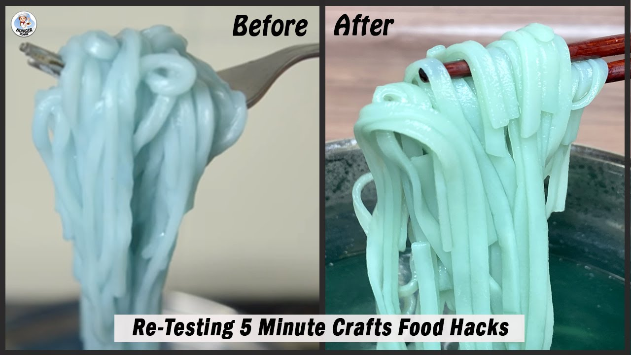 Testing Out Viral Food Hacks By 5 MINUTE CRAFTS | Re-Testing 5 Minute Crafts Food Hacks Part 1 | H P